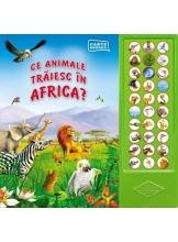 Carte sonora. Ce animale traiesc in Africa