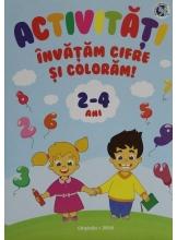 Activitati Invatam cifre si coloram 2-4 ani