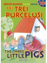 Povesti bilingve (romana-engleza) Cei trei purcelusi