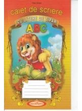 Caiet de scriere cu litere de tipar ABC