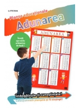 ADUNAREA 0/10 (planse educationale infoliate)