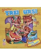 Povesti cu puzzle: Trei ursi