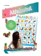 ALFABETUL (planse educationale infoliate)