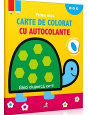 PRIMA MEA CARTE DE COLORAT CU AUTOCOLANTE. GHICI CIUPERCA CE-I! reeditare
