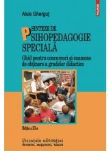 Sinteze de psihologie speciala: ghid pentru concursuri si examene de obtinere a gradelor didactice