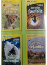 National Geografic Kids. Citesc si descopar lumea. Invat sa citesc (4 carti)
