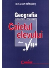 Geografia continentelor extraeuropene cl.7 Caietul elevului