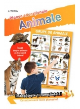 ANIMALE (planse educationale infoliate)