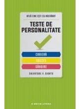 TESTE DE PERSONALITATE.CARIERA