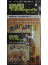 Pasi spre cunoastere 6. Elefantii + DVD