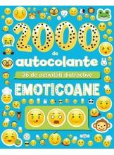 Emoticoane. 2000 de autocolante. 36 de activitati distractive