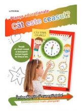 CAT ESTE CEASUL? (planse educationale infoliate)