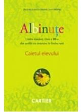 Albinute. Caiet de limba romana pentru clasa 3