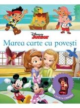 Disney Junior. Marea carte cu povesti +jucarie cadou