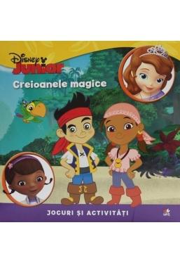 Disney. Creioanele magice. Jocuri si activitati