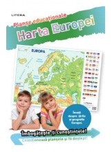 HARTA EUROPEI (planse educationale infoliate)