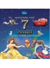 Disney Audiobook. Noapte buna copii! 7 povesti pentru toata saptamana +CD