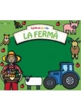 Bebe invata LA FERMA Carte cu puzzle
