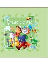 6 jocuri de puzzle. Pinocchio