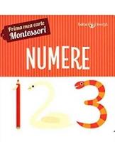 Prima mea carte-Montessori. Numere