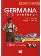 Germana fara profesor si 2 CD-uri audio. Metoda instant