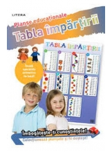 TABLA IMPARTIRII (planse educationale infoliate)
