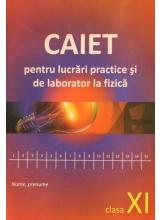 Caiet pentru lucrari practice si de laborator la fizica. Clasa XI