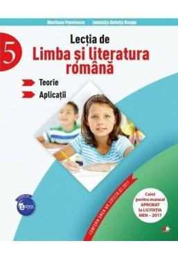 Lectia de limba si literatura romana. Teorie. Aplicatii (clasa a V-a)