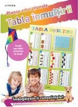TABLA INMULTIRII (planse educationale infoliate)