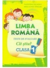 Limba romana Teste de evaluare cl.1