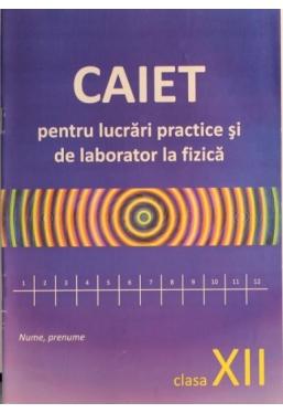 Caiet pentru lucrari practice si de laborator la fizica. Clasa X