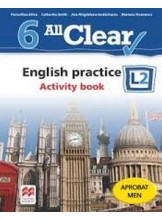 ALL CLEAR. English practice. Activity book. L 2. Lectia de engleza (clasa a VI-a)