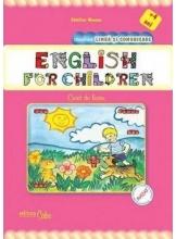 English for children caiet de lucru pentru +4 ani
