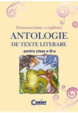 Antologie de texte literare pentru clasa a 3-a