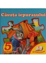 5 puzzle. Casuta iepurasului