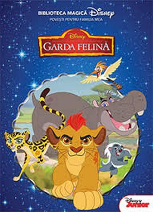 Disney Garda Felina Biblioteca Magica