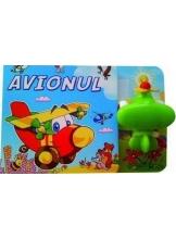 Carte cu jucarie. Avionul