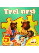 5 puzzle. Trei ursi