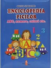 Enciclopedia piciului ABC, numere, culori