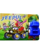Carte cu jucarie. Jeepul