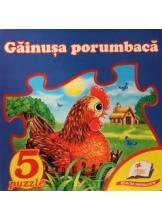 5 puzzle. Gainusa porumbaca