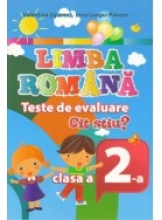 Limba romana Teste de evaluare Cat stiu cl. 2