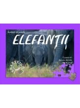 Elefantii. Invatati cu puzzle