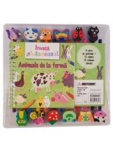Invata sa desenezi animalele de la ferma. O carte de activitati