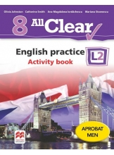ALL CLEAR. English practice. Activity book. L 2. Lectia de engleza (clasa a VIII-a)