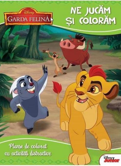 Disney Garda Felina Coloram Si Ne Jucam Planse