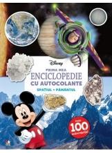 Disney. Prima mea enciclopedie cu autocolante. Spatiul, pamantul