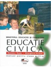Educatie civica. Manual clasa a III-a