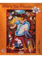 Alice in Tara Minunilor Puzzle 120 piese