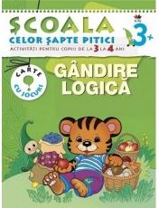 SCSP Gandire logica 3-4 ani 3+